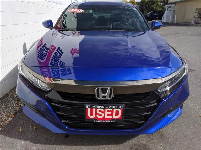 2018 Honda Accord Sport (Stk: B11691) in North Cranbrook - Image 2 of 15