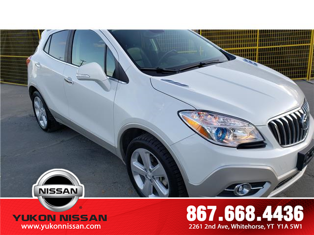 2015 Buick Encore Leather (Stk: 9R4443A) in Whitehorse - Image 1 of 15