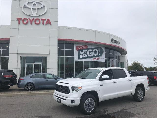 2020 Toyota Tundra Platinum (Stk: 31286) in Aurora - Image 1 of 18