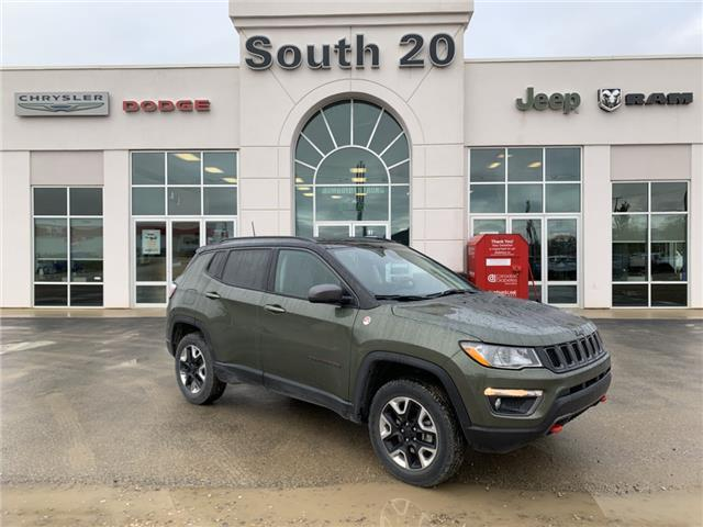 2018 Jeep Compass Trailhawk (Stk: B0040) in Humboldt - Image 1 of 22