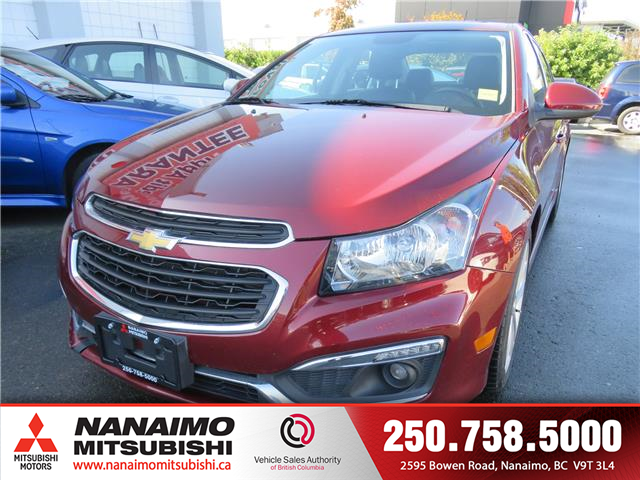 2016 Chevrolet Cruze Limited 2LT (Stk: 8E9021A) in Nanaimo - Image 1 of 10