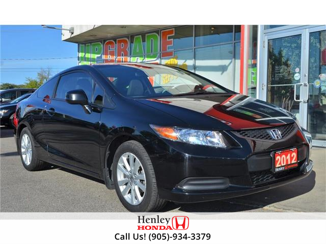 2012 Honda Civic Coupe 2012 Honda Civic Coupe - 2dr Auto EX-L (Stk: H18525A) in St. Catharines - Image 1 of 24