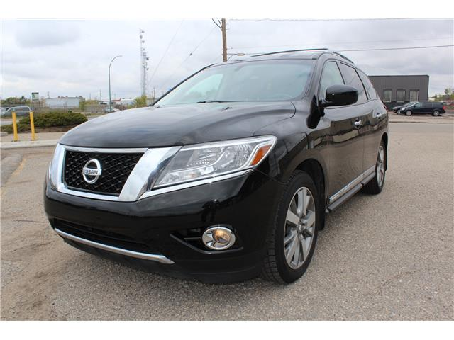 2014 Nissan Pathfinder Platinum (Stk: P1745) in Regina - Image 1 of 21