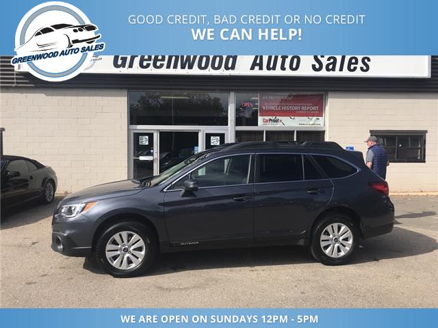 2017 Subaru Outback 2.5i (Stk: 17-08348) in Greenwood - Image 1 of 14
