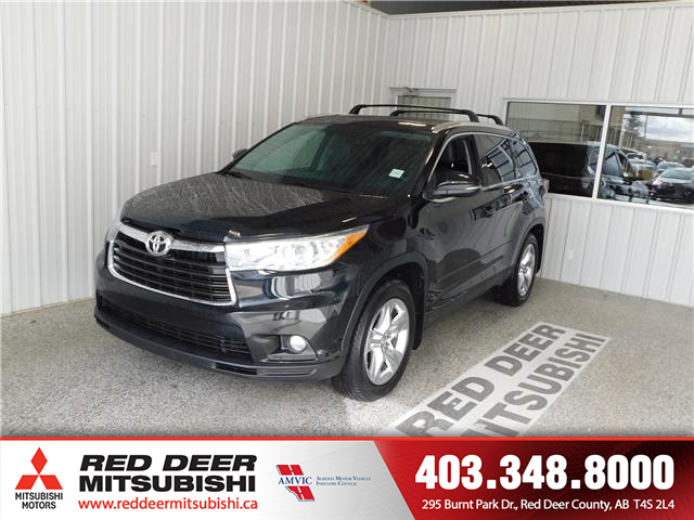 2015 Toyota Highlander Limited (Stk: P8560) in Red Deer County - Image 1 of 19