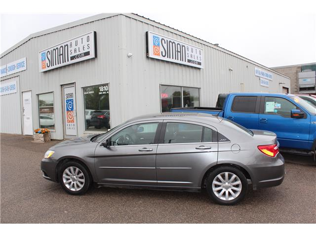 2013 Chrysler 200 LX (Stk: CBK2841) in Regina - Image 1 of 14