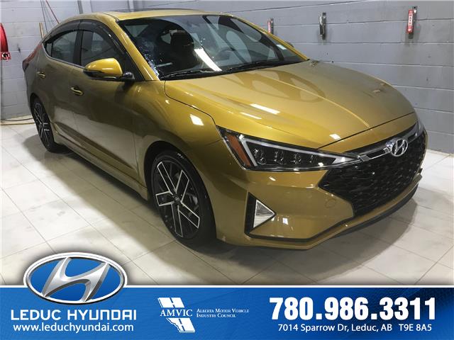2019 Hyundai Elantra Sport (Stk: 20PA7214A) in Leduc - Image 2 of 8