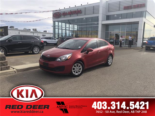 2014 Kia Rio LX+ (Stk: L7604A) in Red Deer - Image 1 of 24