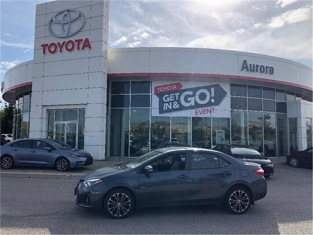 2015 Toyota Corolla S (Stk: 311411) in Aurora - Image 1 of 15