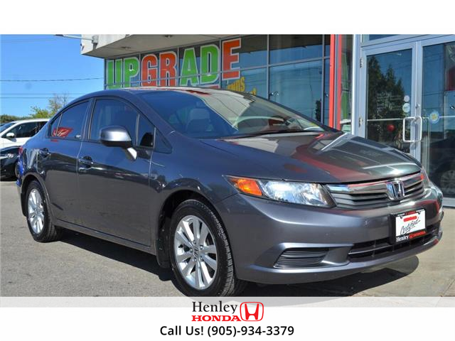 2012 Honda Civic 4dr Man EX (Stk: H18454A) in St. Catharines - Image 1 of 23