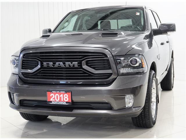 2018 RAM 1500 Sport (Stk: PR027) in Sault Ste. Marie - Image 1 of 21