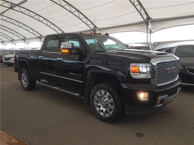 2017 GMC Sierra 2500HD Denali (Stk: 155277) in AIRDRIE - Image 1 of 41