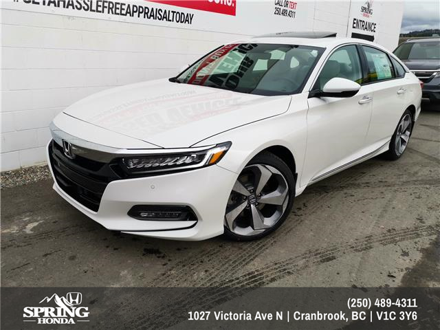 2020 Honda Accord Touring 1.5T (Stk: H00705) in North Cranbrook - Image 1 of 2