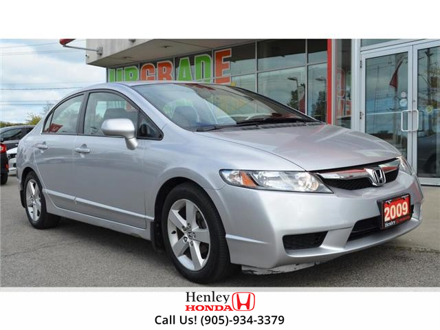 2009 Honda Civic 4dr Auto Sport (Stk: H18562A) in St. Catharines - Image 1 of 20