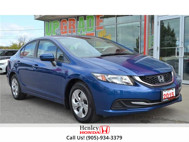 2015 Honda Civic Sedan 4dr Auto LX (Stk: H18556A) in St. Catharines - Image 1 of 27