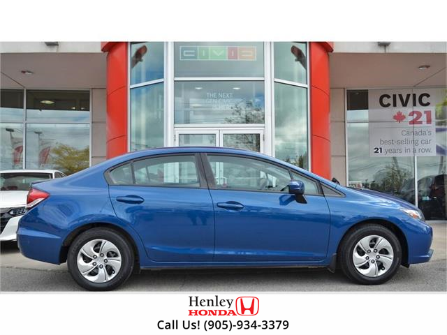 2015 Honda Civic Sedan 4dr Auto LX (Stk: H18556A) in St. Catharines - Image 2 of 27