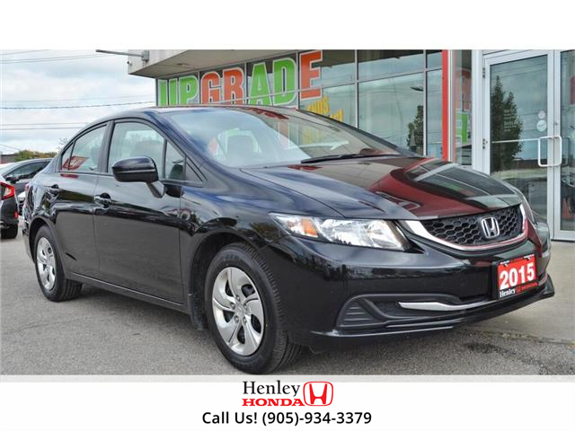2015 Honda Civic Sedan BLUETOOTH | HEATED SEATS | BACK UP CAMERA (Stk: B0901) in St. Catharines - Image 1 of 25