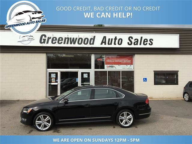 2013 Volkswagen Passat 2.0 TDI Highline (Stk: 13-74496) in Greenwood - Image 1 of 17