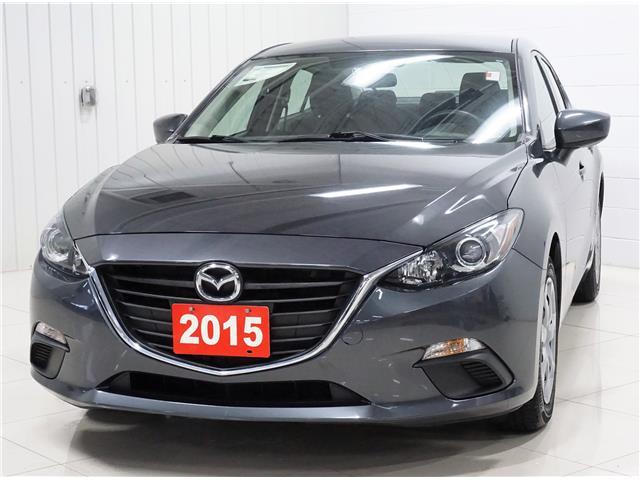 2015 Mazda Mazda3 GX (Stk: MP0579) in Sault Ste. Marie - Image 1 of 27
