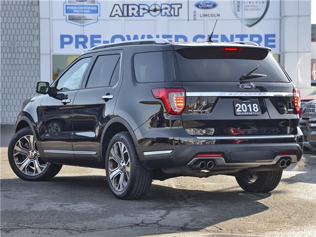2018 Ford Explorer Platinum (Stk: A00025C) in Hamilton - Image 2 of 28