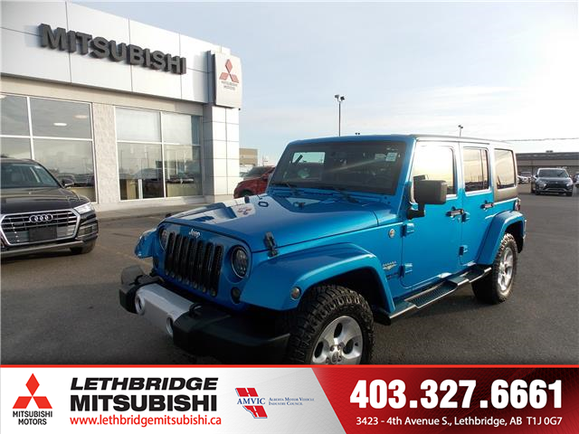 2014 Jeep Wrangler Unlimited Sahara (Stk: 8T620151A) in Lethbridge - Image 1 of 12