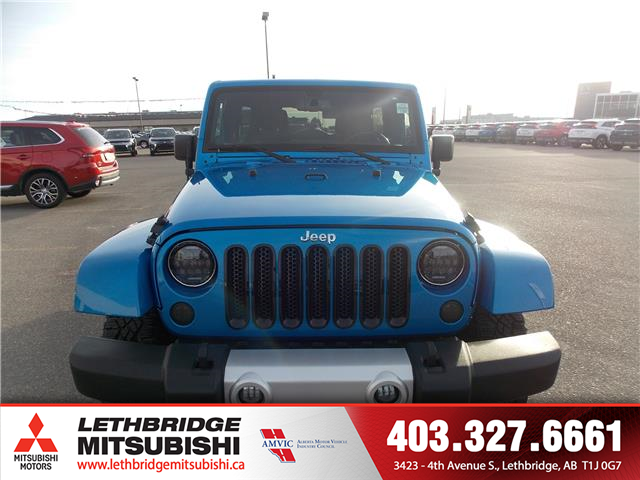 2014 Jeep Wrangler Unlimited Sahara (Stk: 8T620151A) in Lethbridge - Image 2 of 12