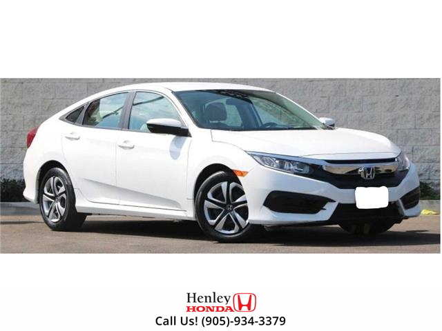 2017 Honda Civic Sedan BLUETOOTH | HEATED SEATS | BACK UP CAMERA (Stk: H18514A) in St. Catharines - Image 1 of 1