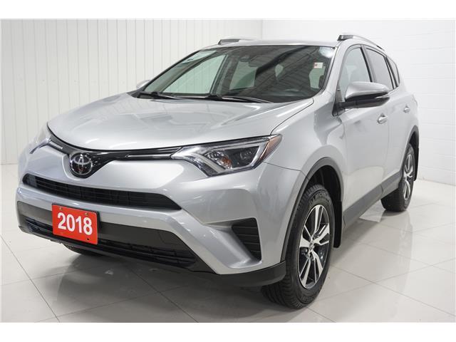 2018 Toyota RAV4 LE (Stk: P5525) in Sault Ste. Marie - Image 1 of 21