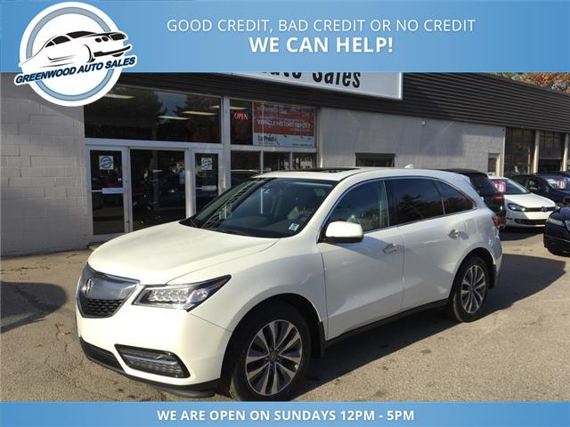 2016 Acura MDX Technology Package (Stk: 16-02722) in Greenwood - Image 2 of 18