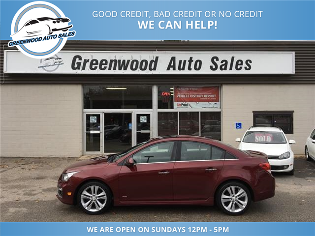2015 Chevrolet Cruze LTZ (Stk: 15-55064) in Greenwood - Image 1 of 20