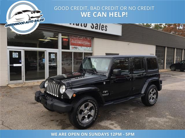 2017 Jeep Wrangler Unlimited Sahara (Stk: 17-81370) in Greenwood - Image 2 of 15
