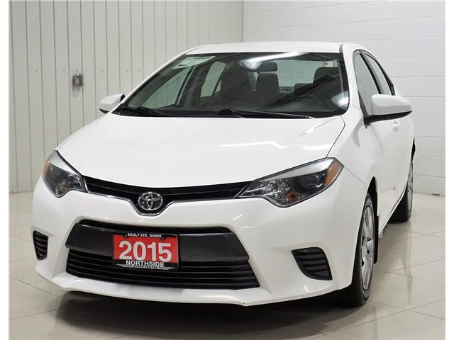 2015 Toyota Corolla LE (Stk: P5506) in Sault Ste. Marie - Image 1 of 17