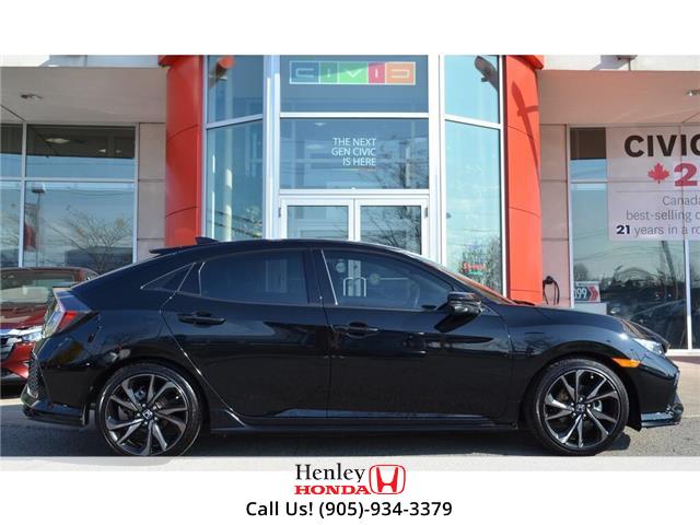 2019 Honda Civic Hatchback NAVI | LEATHER | HEATED SEATS | BLUETOOTH | BACK U (Stk: R9607) in St. Catharines - Image 2 of 29