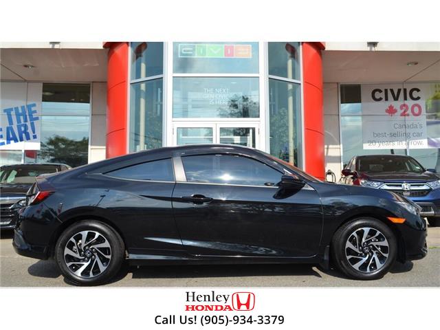 2018 Honda Civic Coupe 2018 Honda Civic LX Manual BLUETOOTH HEATED SEATS (Stk: B0881) in St. Catharines - Image 2 of 21
