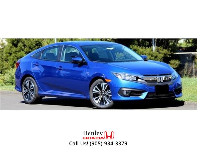 2017 Honda Civic Sedan w/Honda Sensing | SUNROOF | HEATED SEATS | BACK UP (Stk: B0920) in St. Catharines - Image 1 of 1
