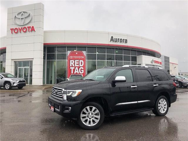 2018 Toyota Sequoia Platinum 5.7L V8 (Stk: 307711) in Aurora - Image 1 of 30