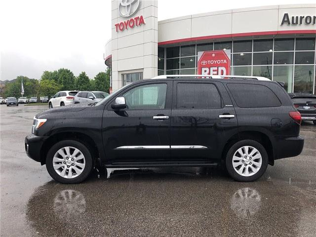 2018 Toyota Sequoia Platinum 5.7L V8 (Stk: 307711) in Aurora - Image 2 of 30