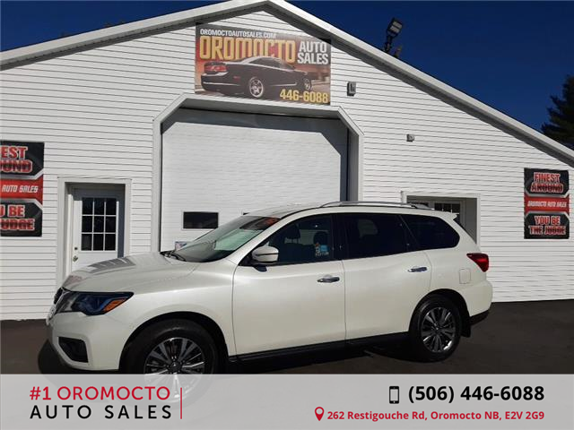 2019 Nissan Pathfinder SV Tech (Stk: 747) in Oromocto - Image 1 of 21