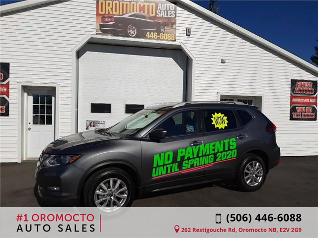 2019 Nissan Rogue SV (Stk: 436) in Oromocto - Image 1 of 16