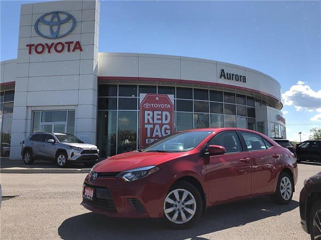 2016 Toyota Corolla LE (Stk: 306041) in Aurora - Image 1 of 22