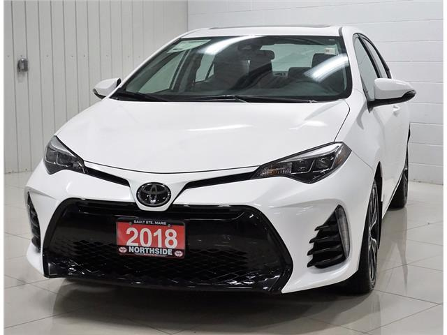 2018 Toyota Corolla SE (Stk: S19010B) in Sault Ste. Marie - Image 1 of 23