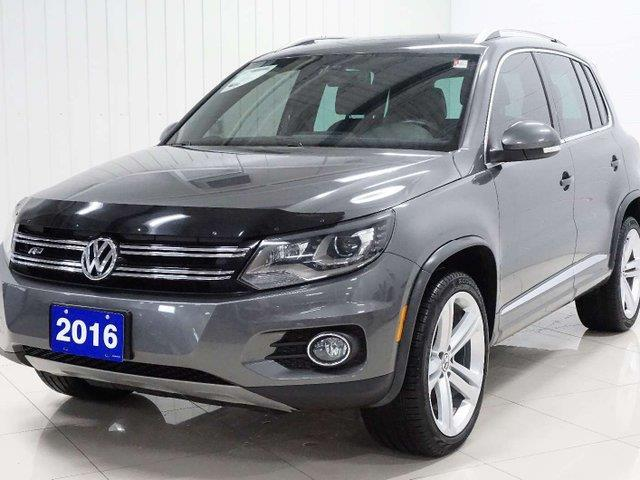 2016 Volkswagen Tiguan Highline (Stk: TI19106A) in Sault Ste. Marie - Image 1 of 22