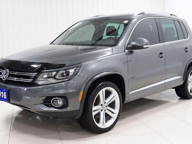 2016 Volkswagen Tiguan Highline (Stk: TI19106A) in Sault Ste. Marie - Image 2 of 22