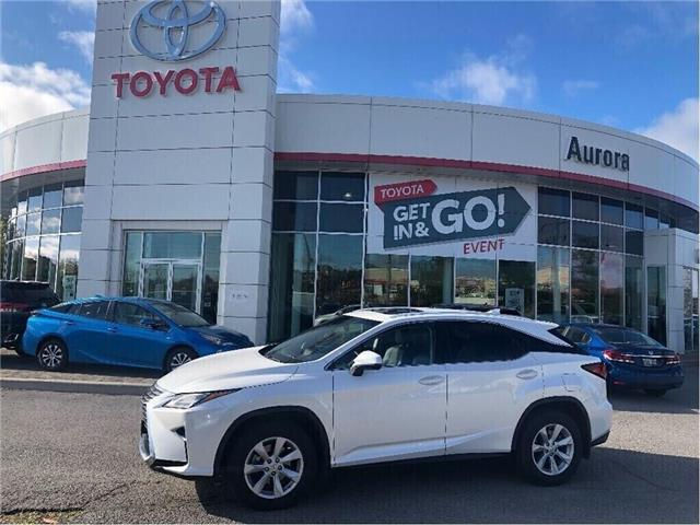2017 Lexus RX 350 Base (Stk: 313401) in Aurora - Image 1 of 18