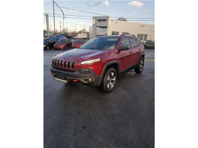 2016 Jeep Cherokee Trailhawk 4WD (Stk: p19-292) in Dartmouth - Image 1 of 14