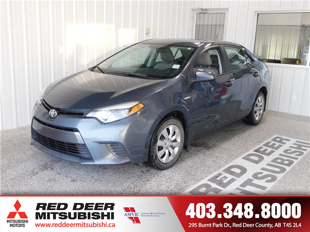 2015 Toyota Corolla LE (Stk: E198616A) in Red Deer County - Image 1 of 16