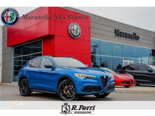 2019 Alfa Romeo Stelvio ti (Stk: 454AR) in Woodbridge - Image 1 of 8