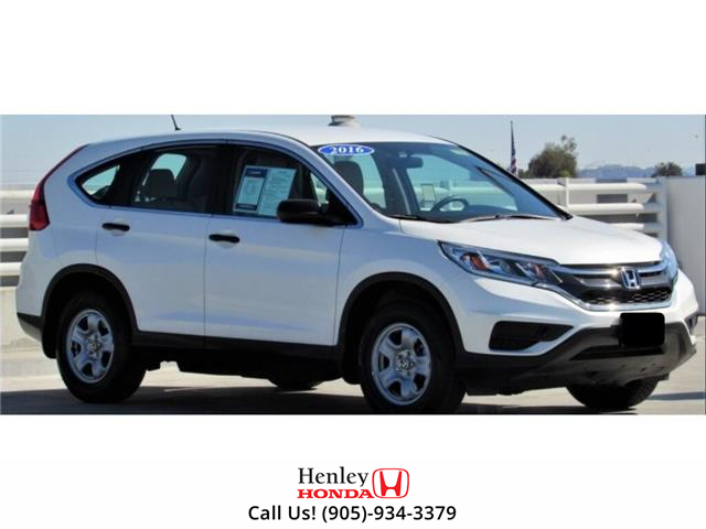 2016 Honda CR-V BLUETOOTH | BACK UP CAMERA | HEATED SEATS (Stk: R9628) in St. Catharines - Image 1 of 1
