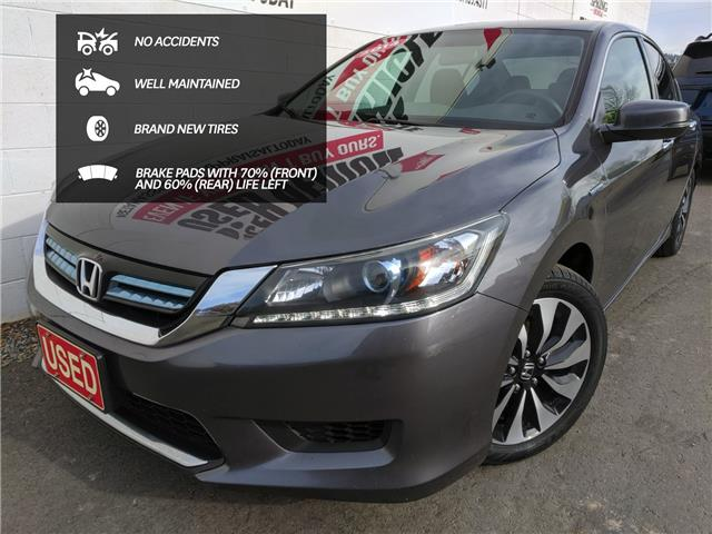 2014 Honda Accord Hybrid Base (Stk: H49278A) in North Cranbrook - Image 1 of 16