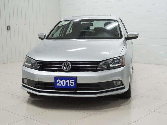 2015 Volkswagen Jetta Highline (Stk: A19058A) in Sault Ste. Marie - Image 1 of 23